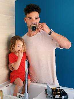Kunst van Genieten L'OR koffie moment